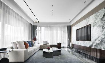 富裕型100平米三室一厅现代简约风格客厅效果图