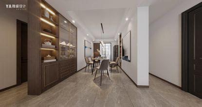 富裕型110平米四新古典风格餐厅图