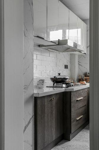 富裕型120平米三室两厅现代简约风格厨房图