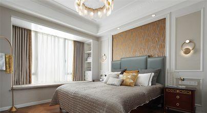 富裕型130平米公寓轻奢风格卧室装修图片大全