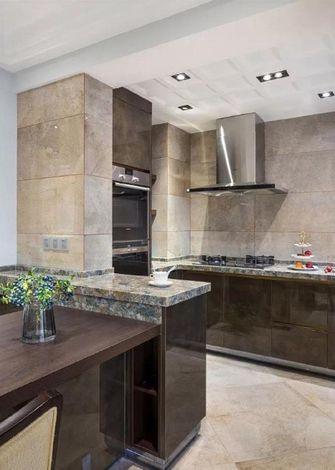 富裕型140平米三现代简约风格厨房图片