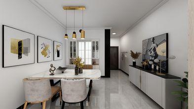 富裕型100平米三室一厅现代简约风格餐厅设计图