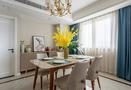豪华型120平米四室一厅美式风格餐厅效果图