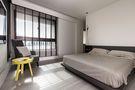 130平米三室一厅工业风风格卧室设计图