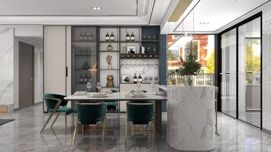 豪华型140平米四室一厅轻奢风格餐厅装修效果图