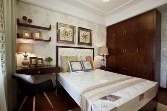 富裕型120平米三室两厅中式风格卧室装修案例