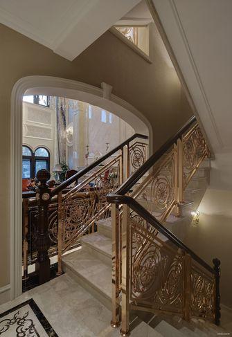 豪华型140平米别墅欧式风格楼梯间装修图片大全