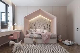 豪华型140平米三室两厅田园风格青少年房设计图