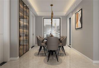 5-10万100平米三室两厅现代简约风格餐厅装修案例