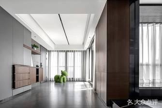 富裕型110平米三室两厅现代简约风格走廊装修案例