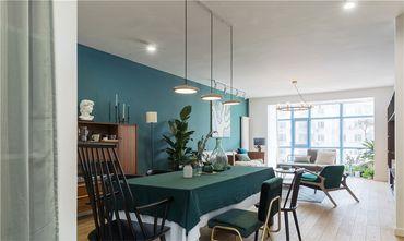 10-15万100平米三室一厅北欧风格餐厅效果图