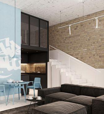 20万以上60平米复式工业风风格客厅装修效果图