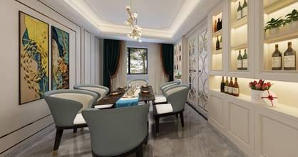 豪华型140平米三室两厅美式风格餐厅效果图