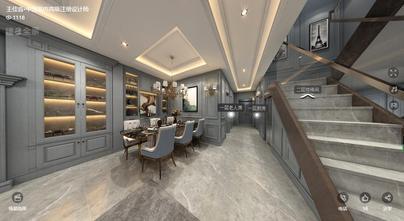 20万以上140平米四室两厅英伦风格餐厅装修效果图