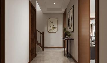 140平米公寓中式风格走廊设计图