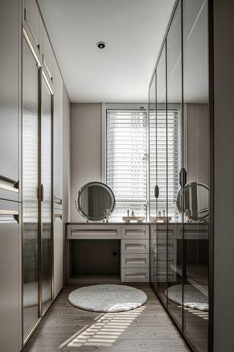 富裕型140平米四室两厅现代简约风格衣帽间图