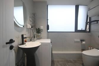 60平米一居室轻奢风格卫生间效果图