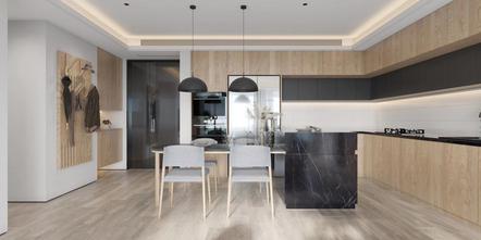 豪华型80平米日式风格厨房效果图