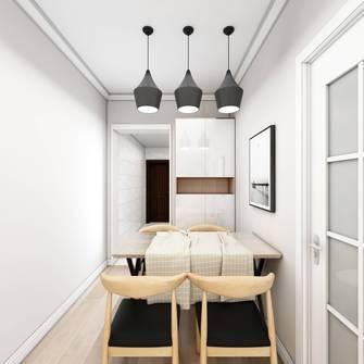 5-10万50平米小户型现代简约风格餐厅装修效果图