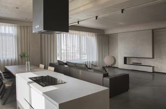 60平米公寓新古典风格客厅装修效果图