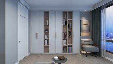 20万以上140平米三室两厅轻奢风格书房设计图