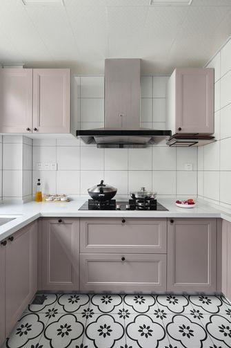 富裕型130平米三北欧风格厨房图