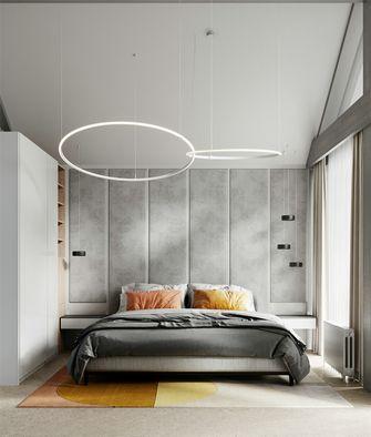 富裕型140平米四室一厅现代简约风格卧室图片