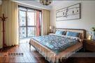 110平米三港式风格卧室图片