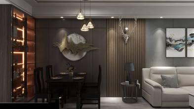 豪华型中式风格餐厅装修案例