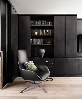 140平米混搭风格书房图片大全