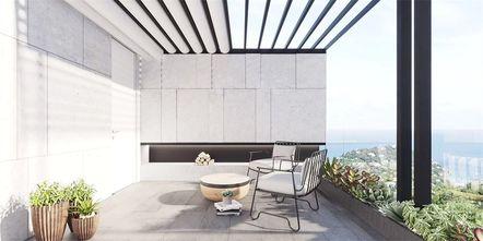 经济型90平米日式风格阳台图片大全
