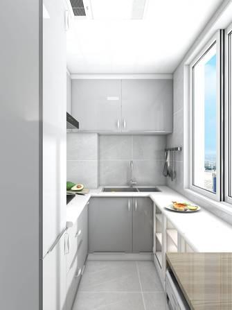 10-15万50平米一室一厅现代简约风格厨房欣赏图