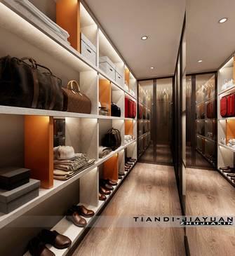 豪华型140平米现代简约风格衣帽间装修图片大全