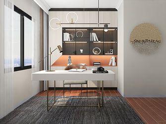 110平米三室两厅北欧风格书房装修图片大全
