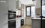 130平米三法式风格厨房图