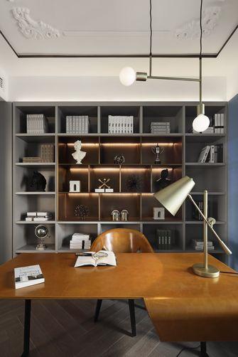 豪华型120平米三室两厅法式风格书房装修图片大全