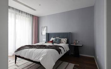 富裕型120平米三室三厅北欧风格卧室效果图
