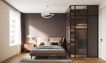 富裕型60平米公寓北欧风格卧室图