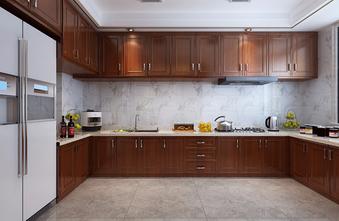 20万以上140平米别墅中式风格厨房图片大全