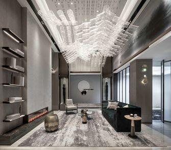 豪华型100平米别墅中式风格客厅效果图
