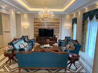 20万以上140平米四室三厅欧式风格客厅装修效果图