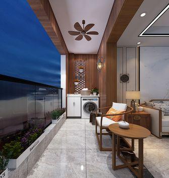 140平米中式风格阳台装修图片大全