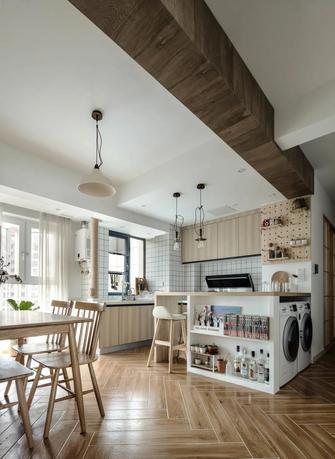 经济型80平米三室两厅日式风格厨房图片大全