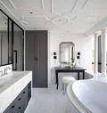 经济型110平米三室一厅法式风格客厅装修图片大全