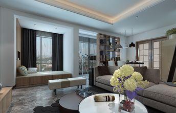 富裕型140平米三室一厅混搭风格客厅效果图