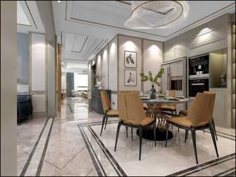 140平米四室三厅轻奢风格餐厅装修效果图
