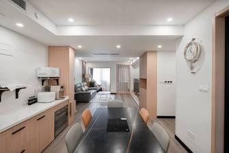 富裕型100平米日式风格餐厅设计图