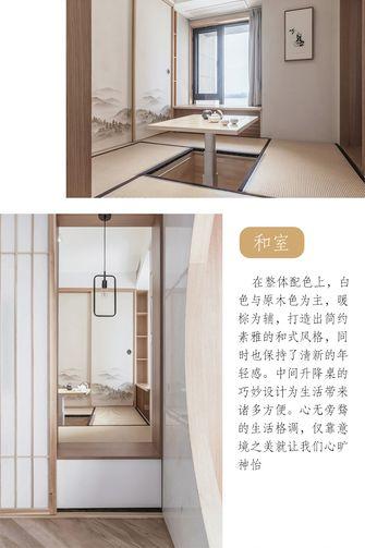 120平米三室两厅日式风格阳光房装修效果图