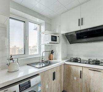 60平米田园风格厨房装修效果图