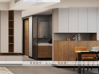 10-15万130平米三室两厅现代简约风格走廊图
